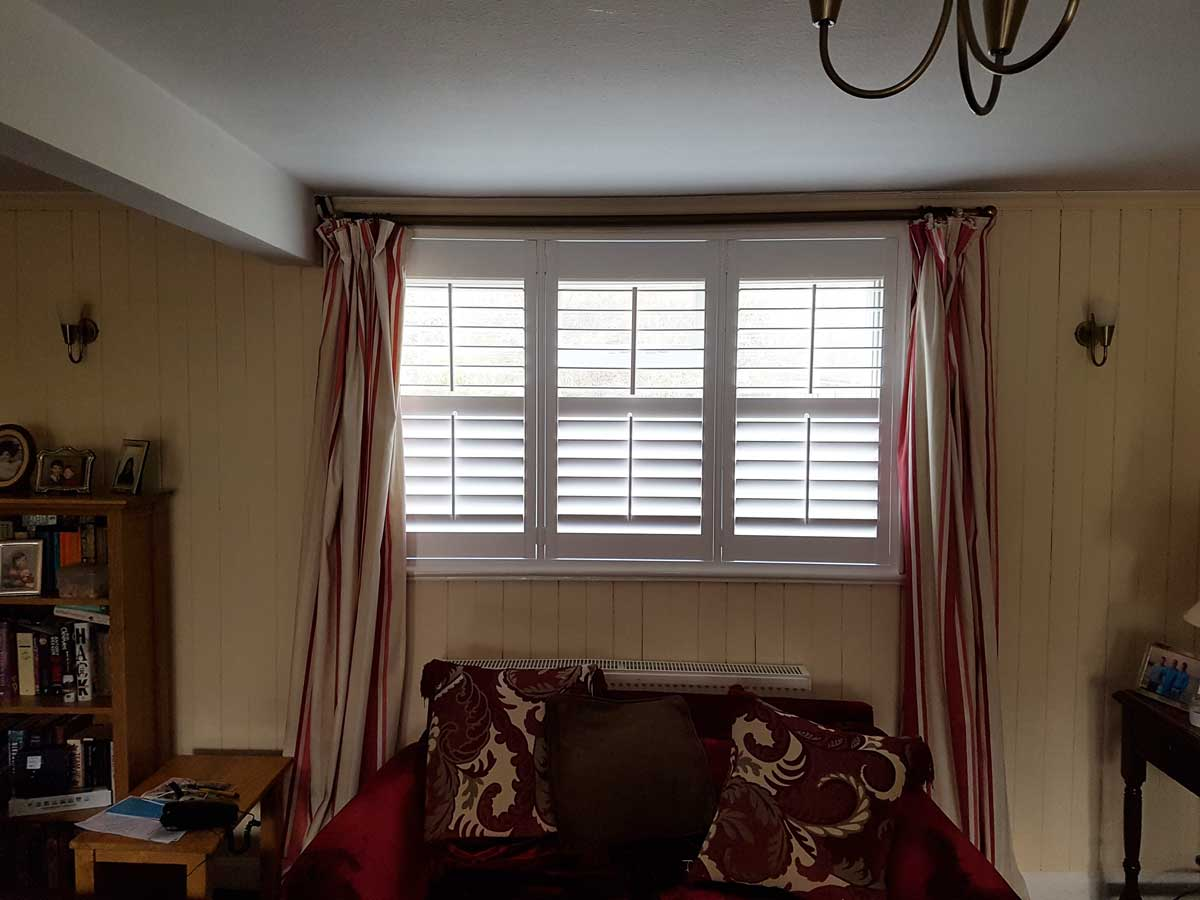 Living Room Shutters Window Shutters Designed And Fitted