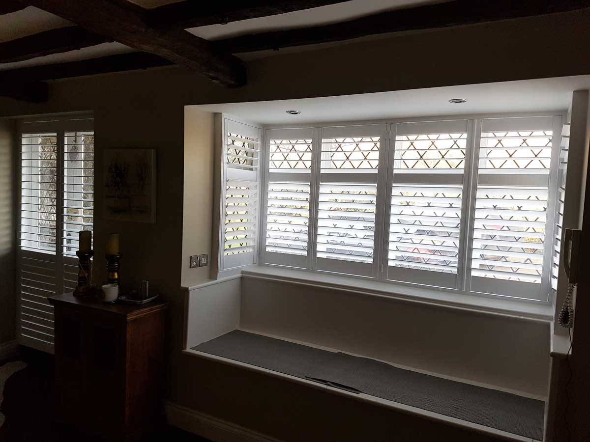 Window And French Door Shutters For Farm House Of