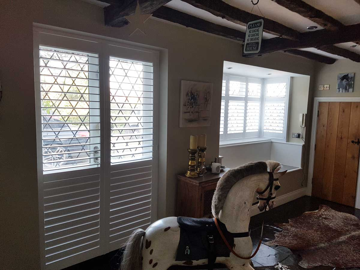 Window And French Door Shutters For Farm House Of Equestrian Specialist In Ascot Berkshire Eden House
