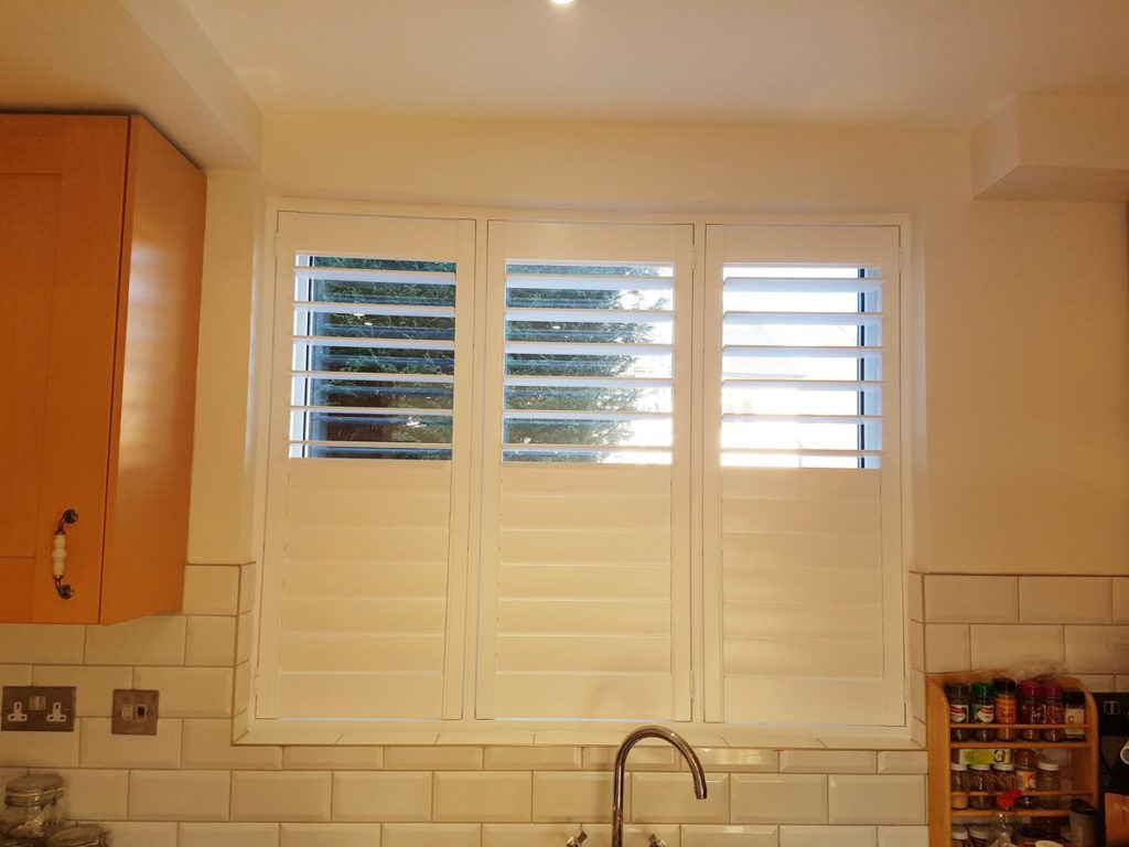 Full Height Shutters For Family Room Kitchen And Patio
