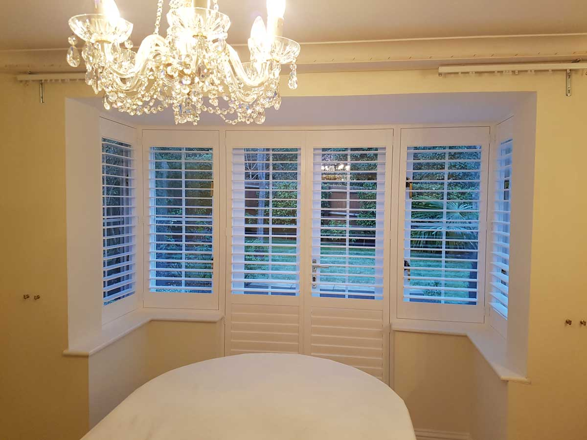 French doors dining room