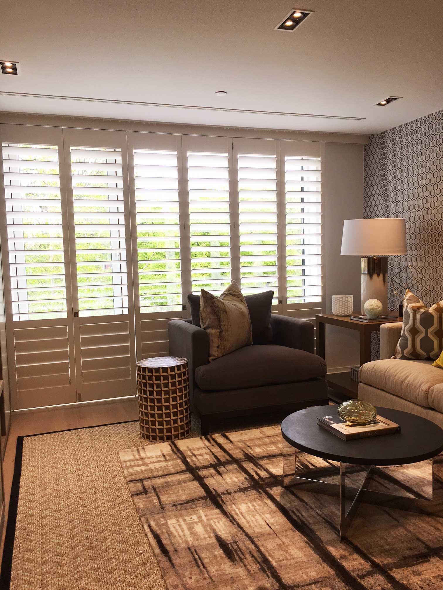 White shutters for living room windows window shutters for Living room no windows